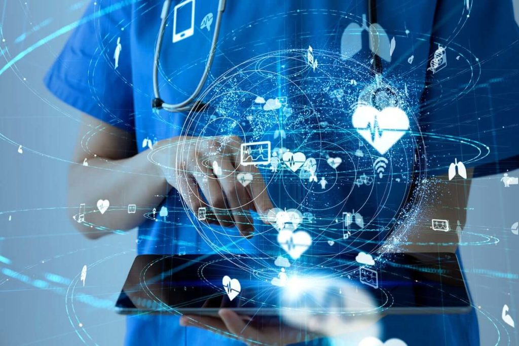 Federated learning is use in healthcare